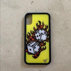 Tana Mongeau Wildflower Iphone 10 Dice Case